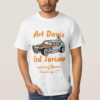 Art Davis - Ted Turiano Racing Team Two Sided Tee