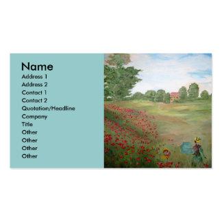 Art Dealer's Business Card