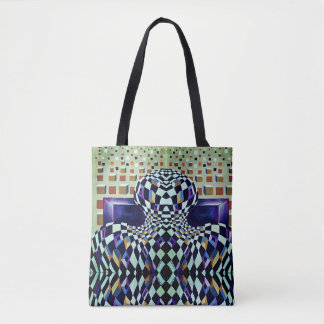 Art Deco - Abstract Distortion Tote Bag
