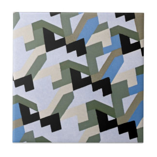 Art Deco Abstract Tiles and Tile Boxes