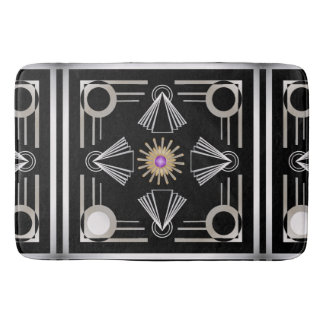 Art Deco Bath Mat