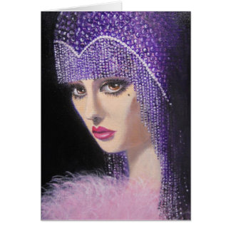 ART DECO BEAUTY, NOTE CARD