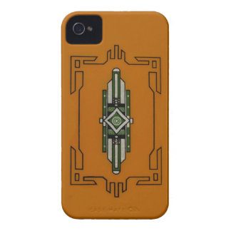Art Deco ~ BlackBerry Bold CaseMate Barely There iPhone 4 Case-Mate Case