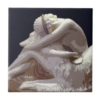 Art Deco Borzoi Love Tile