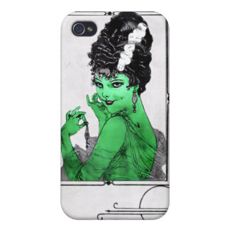 Art Deco Bride  Cases For iPhone 4