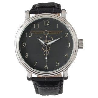 Art Deco Caduceus Watch