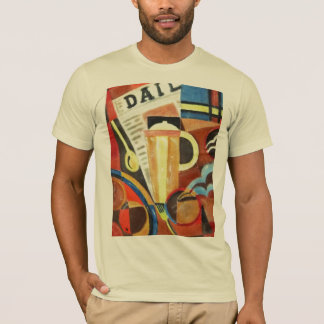 Art Deco coffee t-shirt