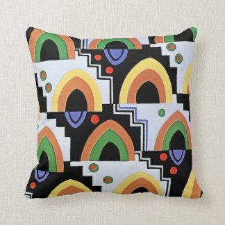 Art Deco Design #4 @ Emporio Moffa Cushion