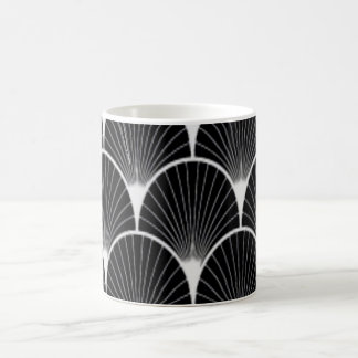 Art Deco Design Black & White Coffee Mug