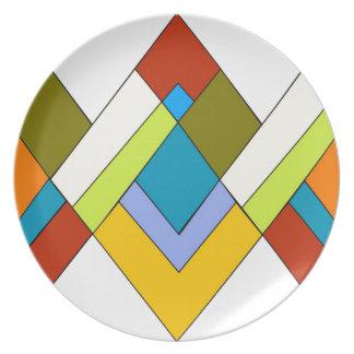 Art Deco Design Plate