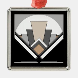 Art Deco Expression Metal Ornament
