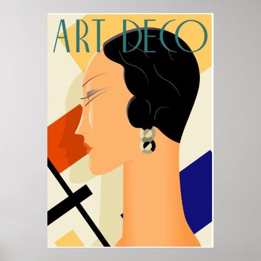 Art Deco Fashion 03 Print