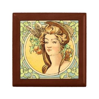 Art Deco Female Gift Box 4