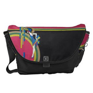 Art Deco Flapper Messenger Bag