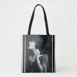 Art Deco Flapper Tote
