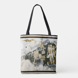 Art Deco Flappers Tote