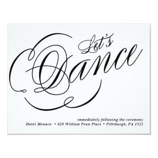 Art Deco Geometric Diamond Wedding Reception Card
