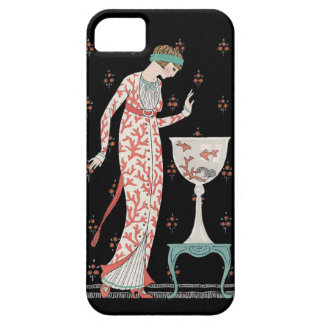 Art Deco George Barbier Goldfish iPhone 5 Case
