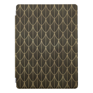 Art Deco Gold Elegant Scales Scallop Pattern iPad Pro Cover