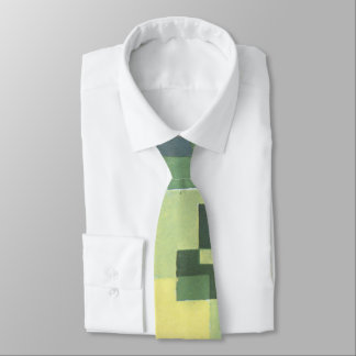 Art Deco Green Tie