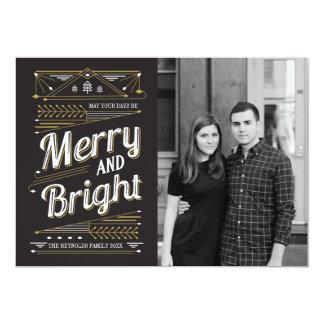 Art Deco Holiday Photo Card 13 Cm X 18 Cm Invitation Card