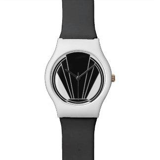 Art Deco Inspired Crest Wristwatch