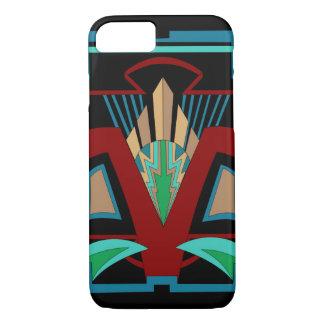 Art Deco iPhone 7 Case (Black)