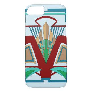 Art Deco iPhone 7 Case (Pale Blue)