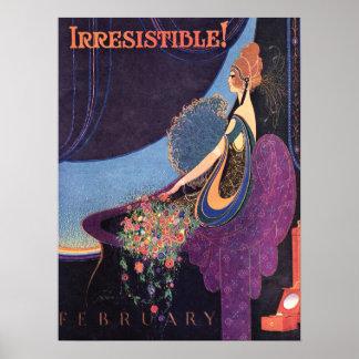 Art Deco Irresistible Mavis Perfume Poster