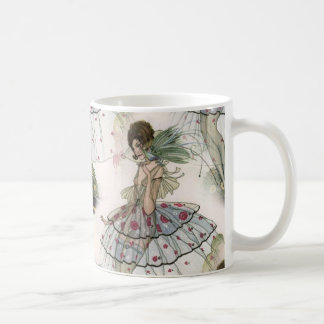 Art Deco ladies White 11 oz Classic Mug