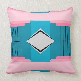 Art Deco Large Print Throw Pillow