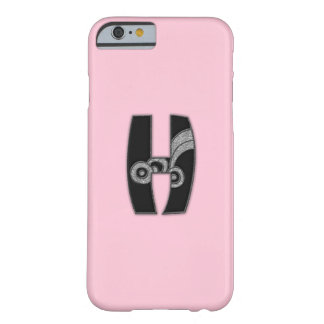 art deco monogram - H Barely There iPhone 6 Case