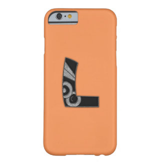 art deco monogram - L Barely There iPhone 6 Case