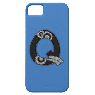 art deco monogram - Q iPhone 5 Cover