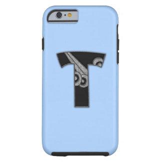 art deco monogram - T Tough iPhone 6 Case