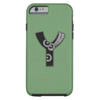 art deco monogram - Y Tough iPhone 6 Case