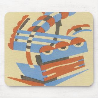 Art Deco Mouse Pad
