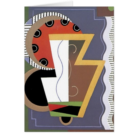 Art Deco Notecard