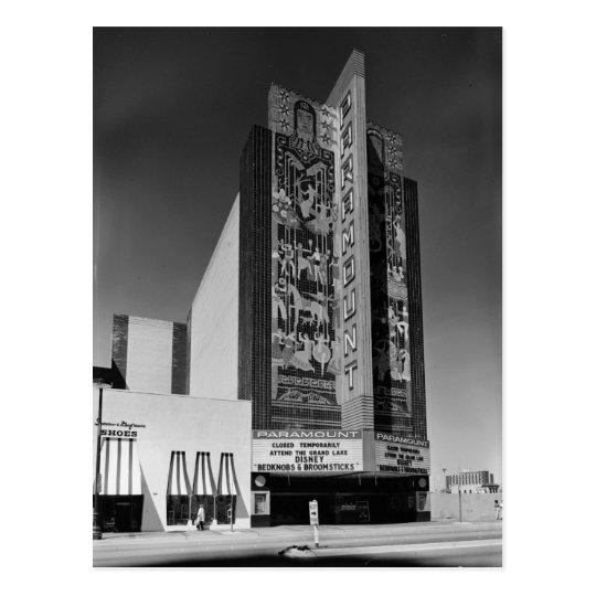 Art Deco Paramount Theatre, Oakland, CA Postcard
