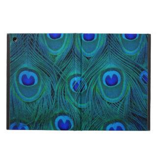Art Deco  Parisian Teal Green Peacock Feather Case For iPad Air