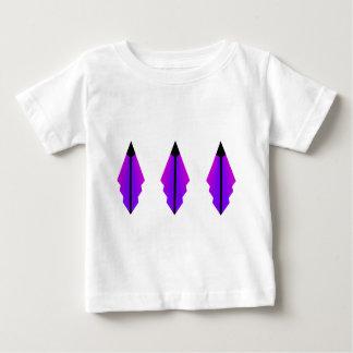 Art Deco Pattern 3 in Purple Baby T-Shirt