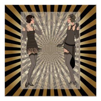 Art deco,pattern,stripes,gold,black,vintage,chic,