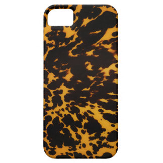 Art Deco polished tortoise shell Case For The iPhone 5