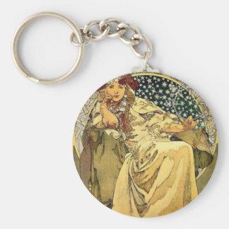 Art Deco Princess Key Ring