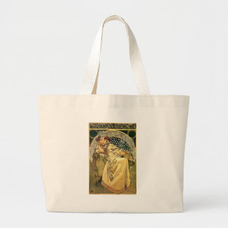 Art Deco Princess Large Tote Bag