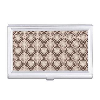 Art Deco Sea Shells Business Card Case