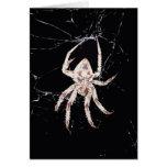 art deco spider card