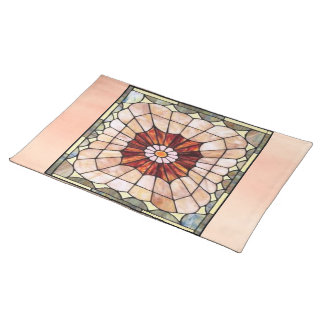 Art Deco Stained Glass 2 Placemat