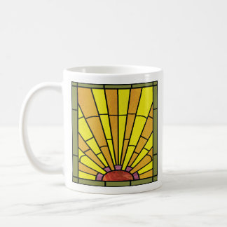 Art Deco Stained Glass 3 Coffee Mug