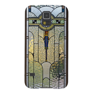 Art Deco Stained Glass Window Galaxy S5 Cover